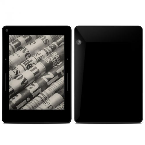 Solid State Black Amazon Kindle Voyage Skin