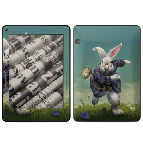 White Rabbit Amazon Kindle Voyage Skin