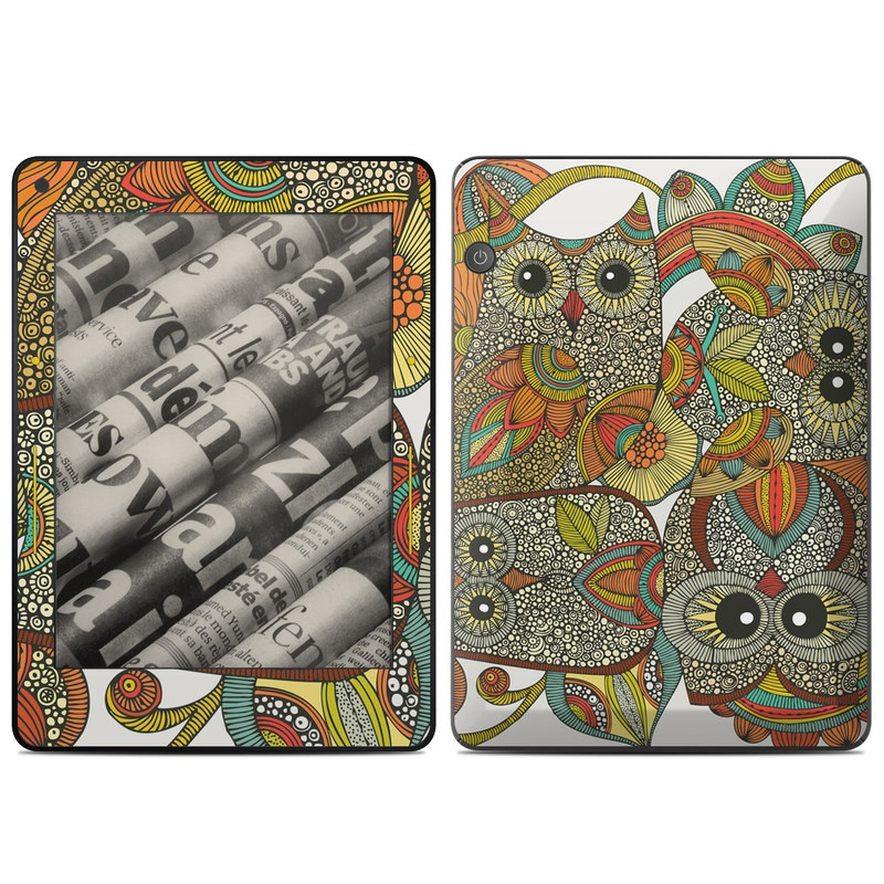 4 owls Amazon Kindle Voyage Skin