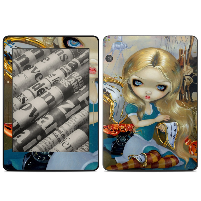 Alice in a Dali Dream Amazon Kindle Voyage Skin