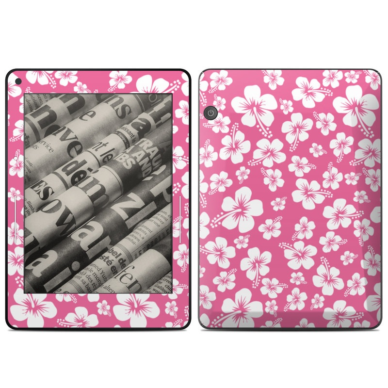 Aloha Pink Amazon Kindle Voyage Skin