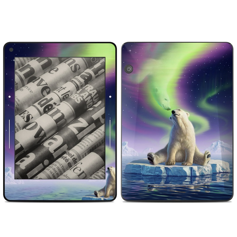 Arctic Kiss Amazon Kindle Voyage Skin