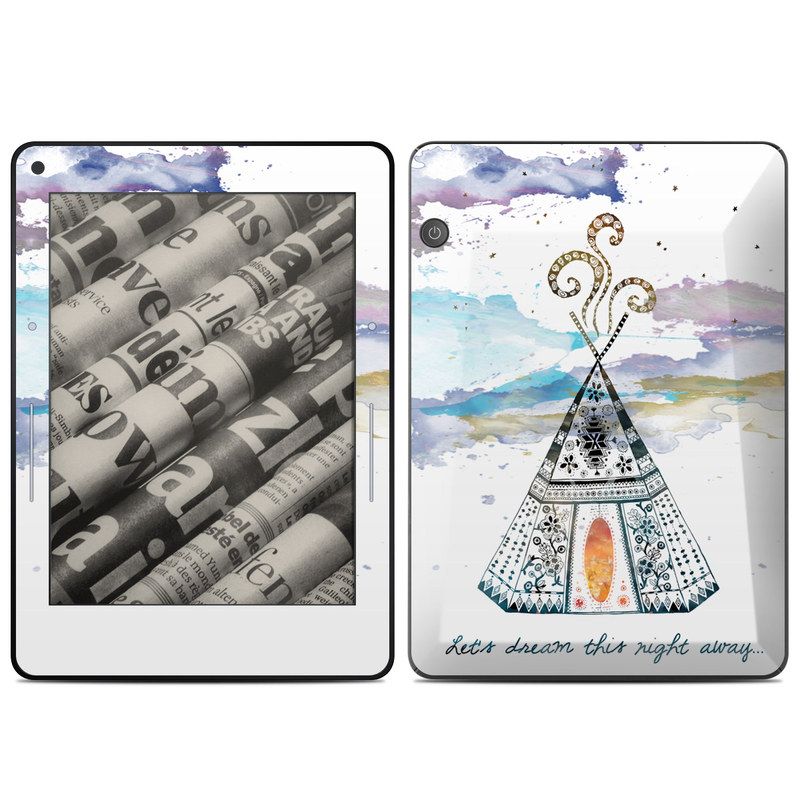 Boho Teepee Amazon Kindle Voyage Skin