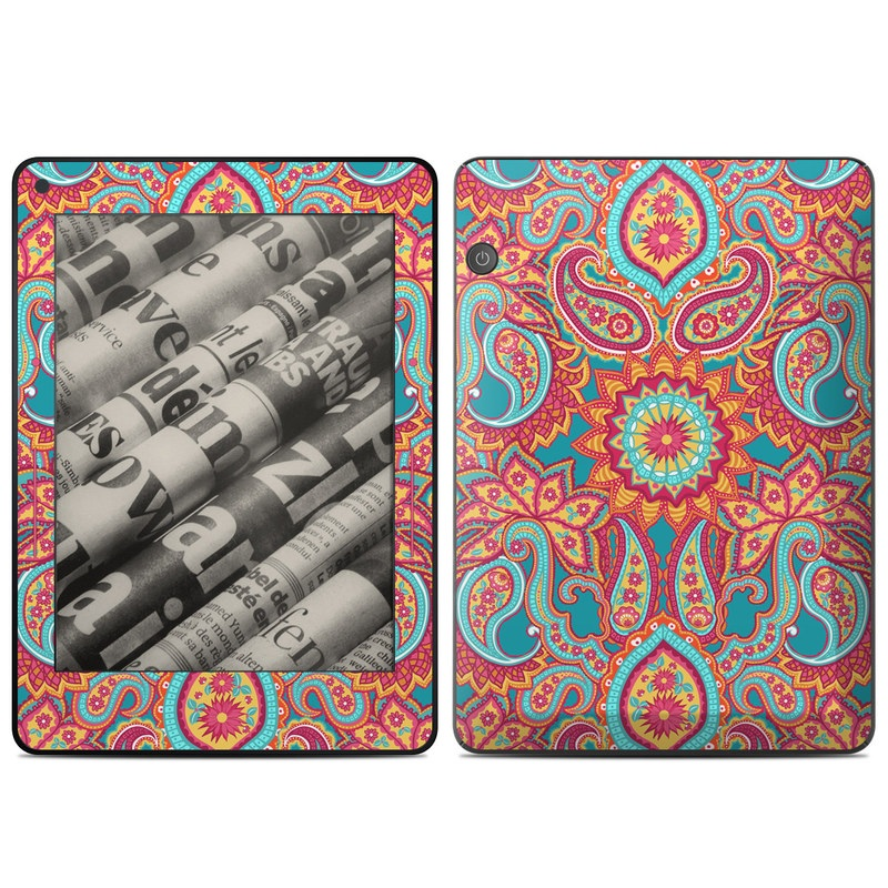 Carnival Paisley Amazon Kindle Voyage Skin