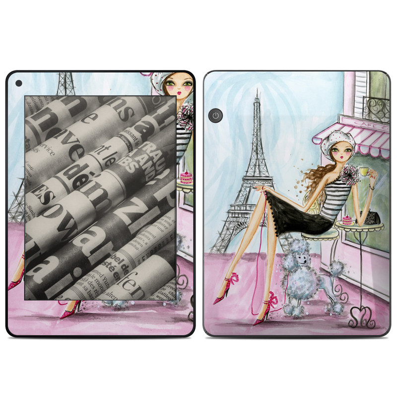 Cafe Paris Amazon Kindle Voyage Skin