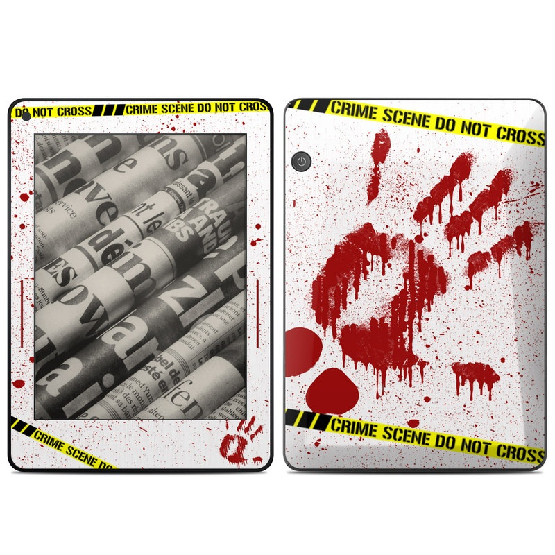 Crime Scene Revisited Amazon Kindle Voyage Skin