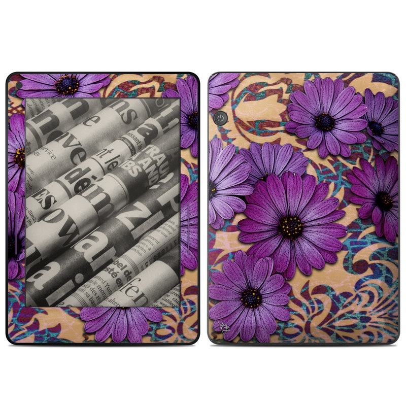 Daisy Damask Amazon Kindle Voyage Skin