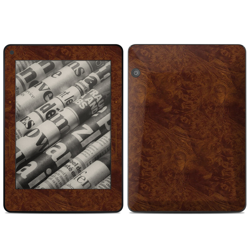 Amazon Kindle Voyage Skin design of Brown, Wood, Wood flooring, Caramel color, Pattern, Hardwood, Wood stain, Flooring, Floor, Plywood with brown colors