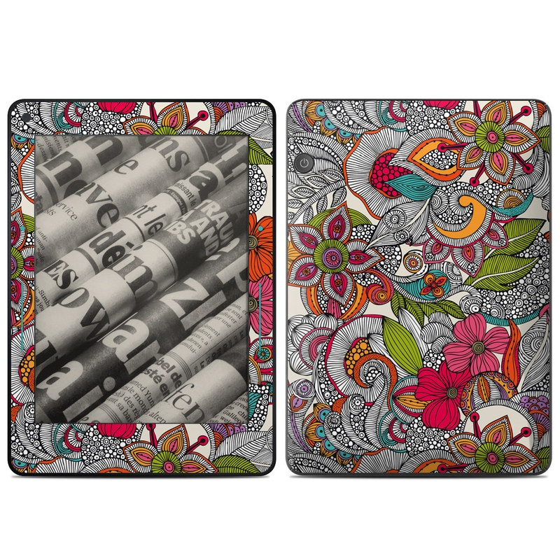 Doodles Color Amazon Kindle Voyage Skin