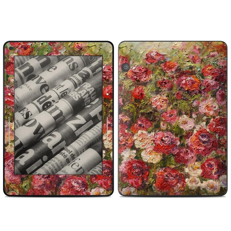 Fleurs Sauvages Amazon Kindle Voyage Skin