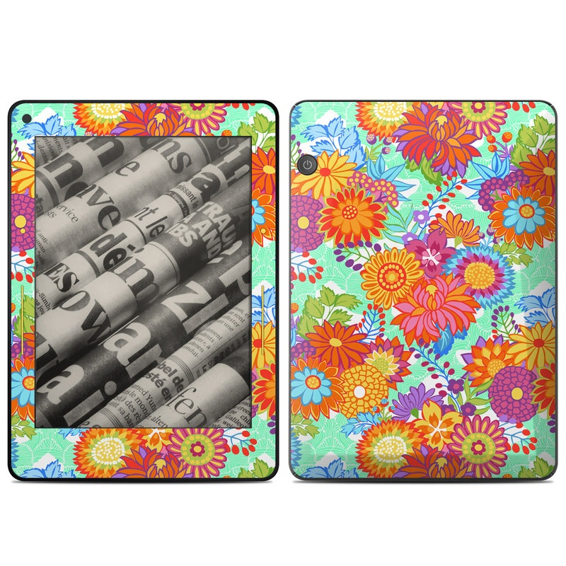 Jubilee Blooms Amazon Kindle Voyage Skin