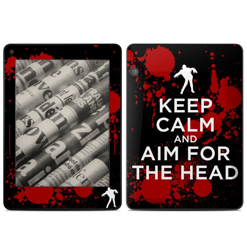 Keep Calm - Zombie Amazon Kindle Voyage Skin
