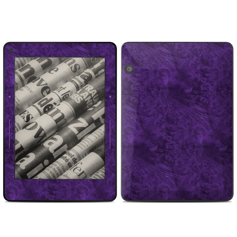 Purple Lacquer Amazon Kindle Voyage Skin