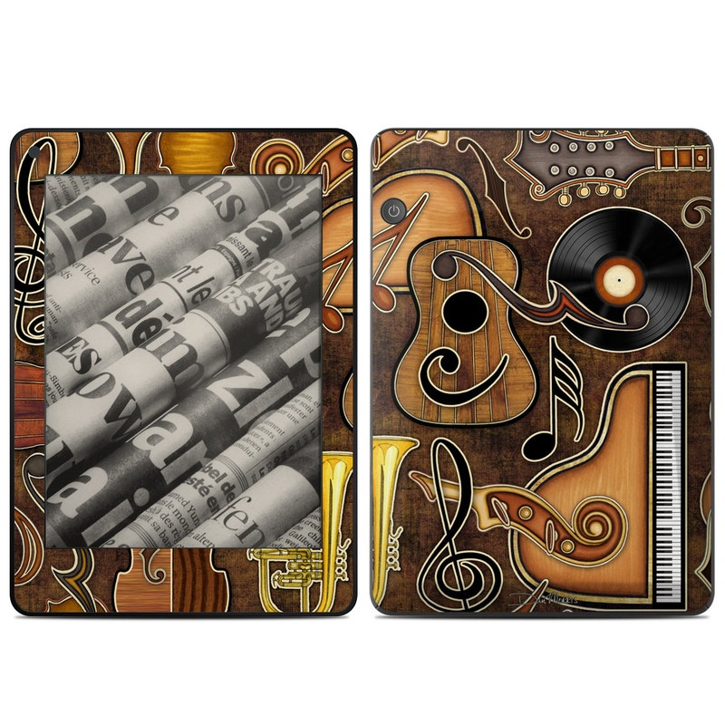 Music Elements Amazon Kindle Voyage Skin