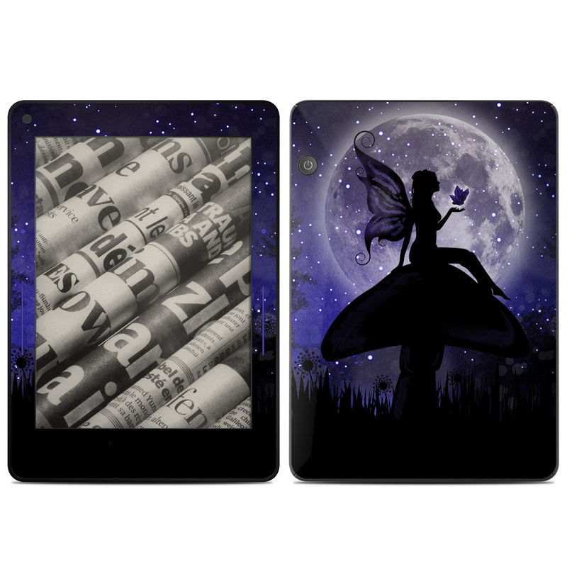 Moonlit Fairy Amazon Kindle Voyage Skin