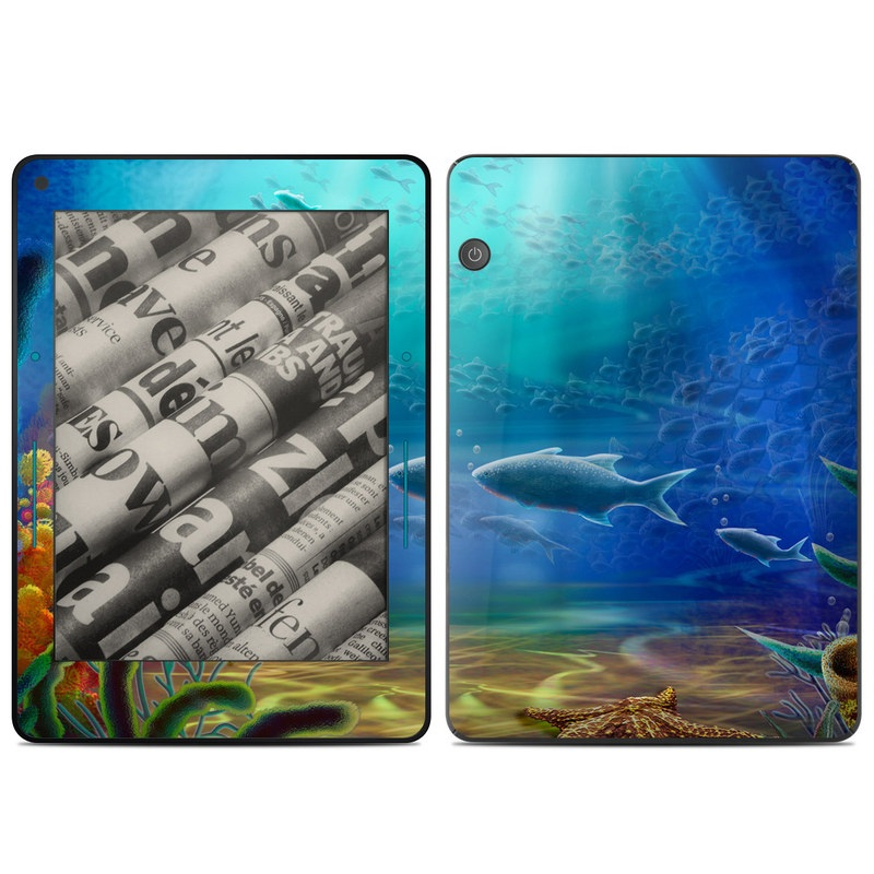 Ocean Life Amazon Kindle Voyage Skin