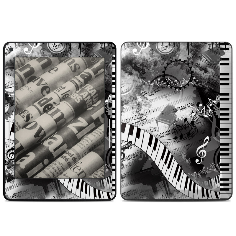 Piano Pizazz Amazon Kindle Voyage Skin