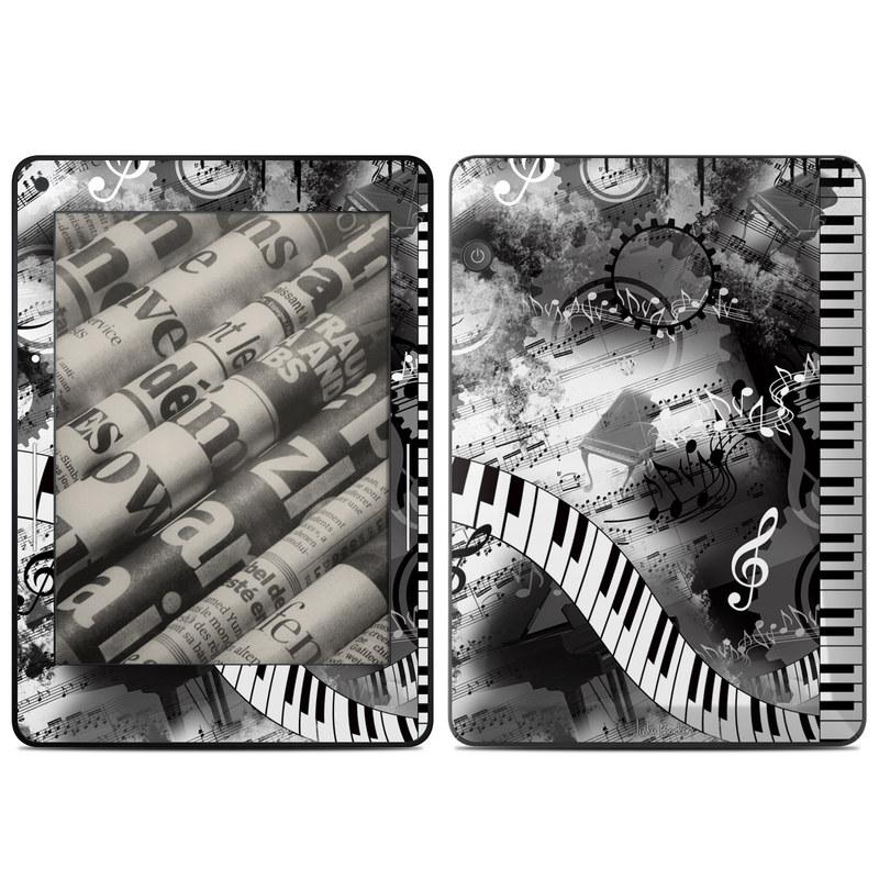 Piano Pizazz Amazon Kindle Voyage Skin