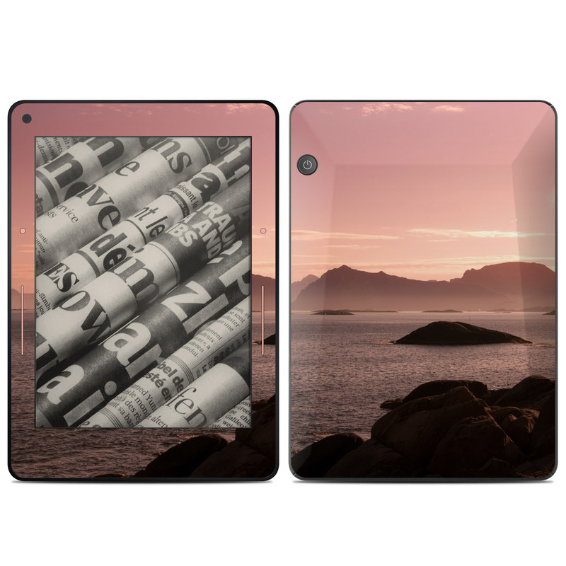 Pink Sea Amazon Kindle Voyage Skin