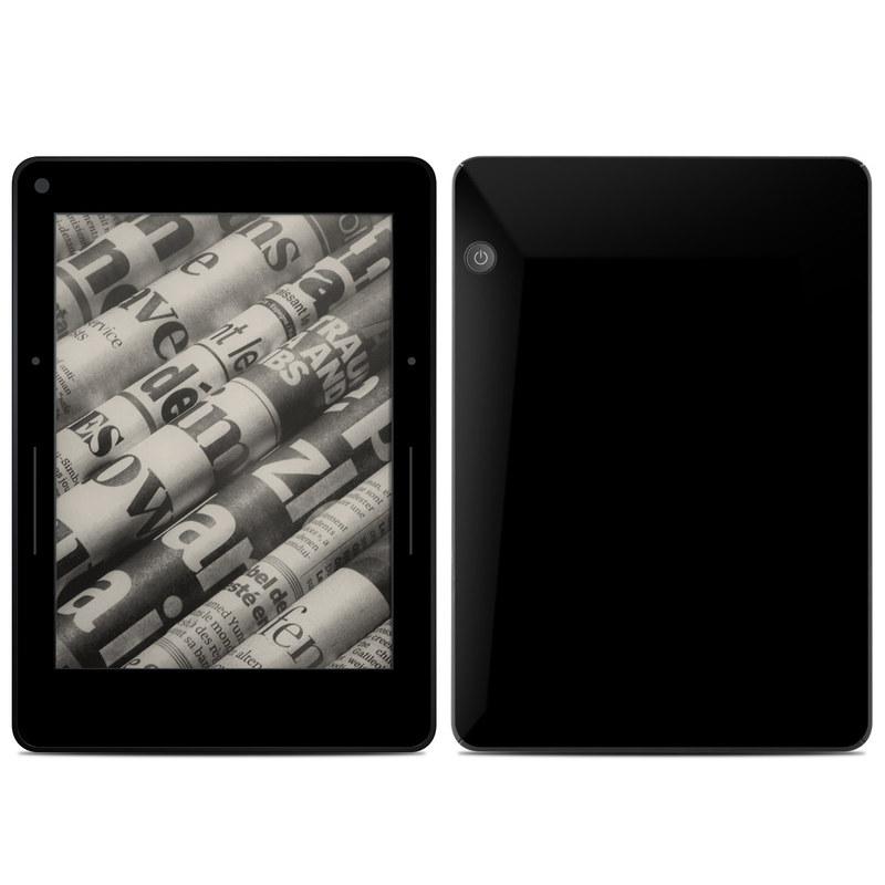 Solid State Black Amazon Kindle Voyage Skin