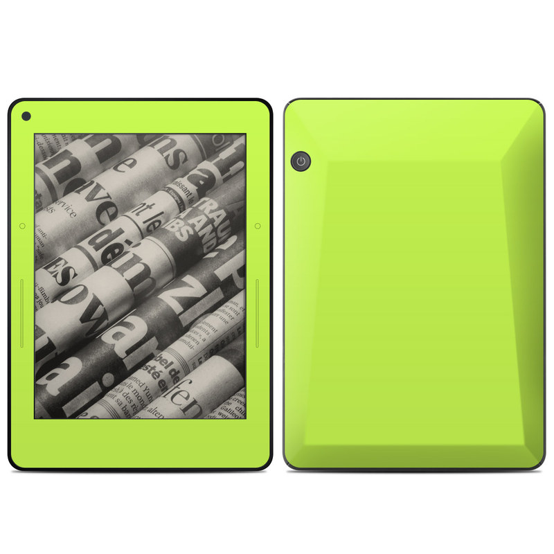 Solid State Lime Amazon Kindle Voyage Skin