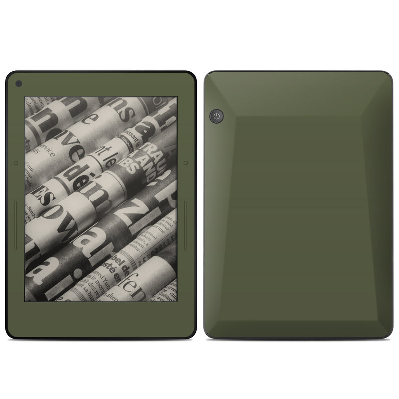 Solid State Olive Drab Amazon Kindle Voyage Skin