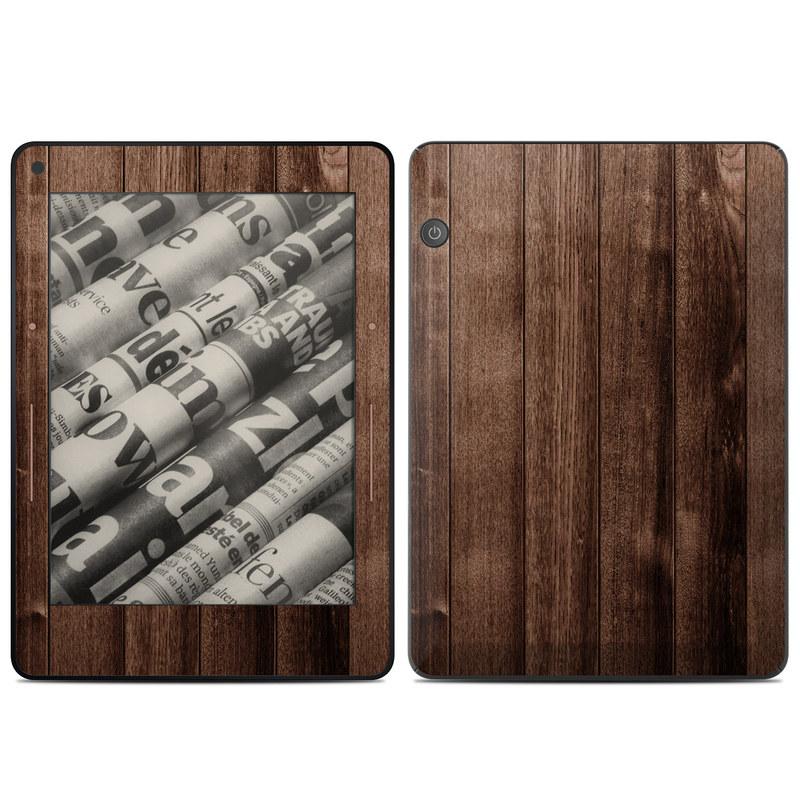 Stained Wood Amazon Kindle Voyage Skin