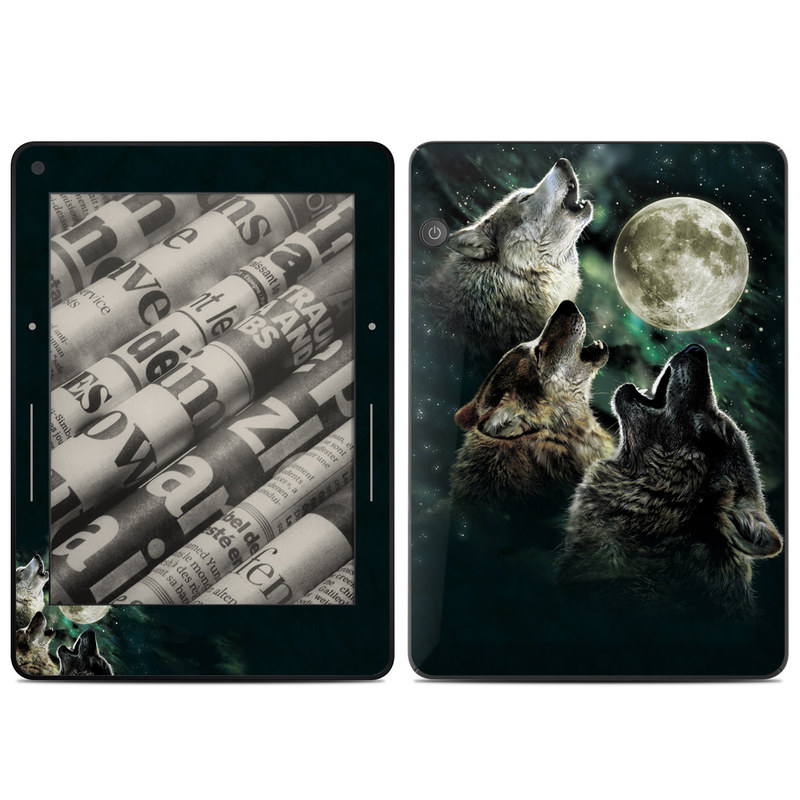 Three Wolf Moon Amazon Kindle Voyage Skin
