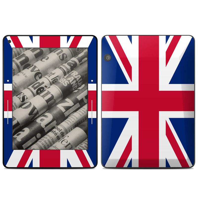 Union Jack Amazon Kindle Voyage Skin