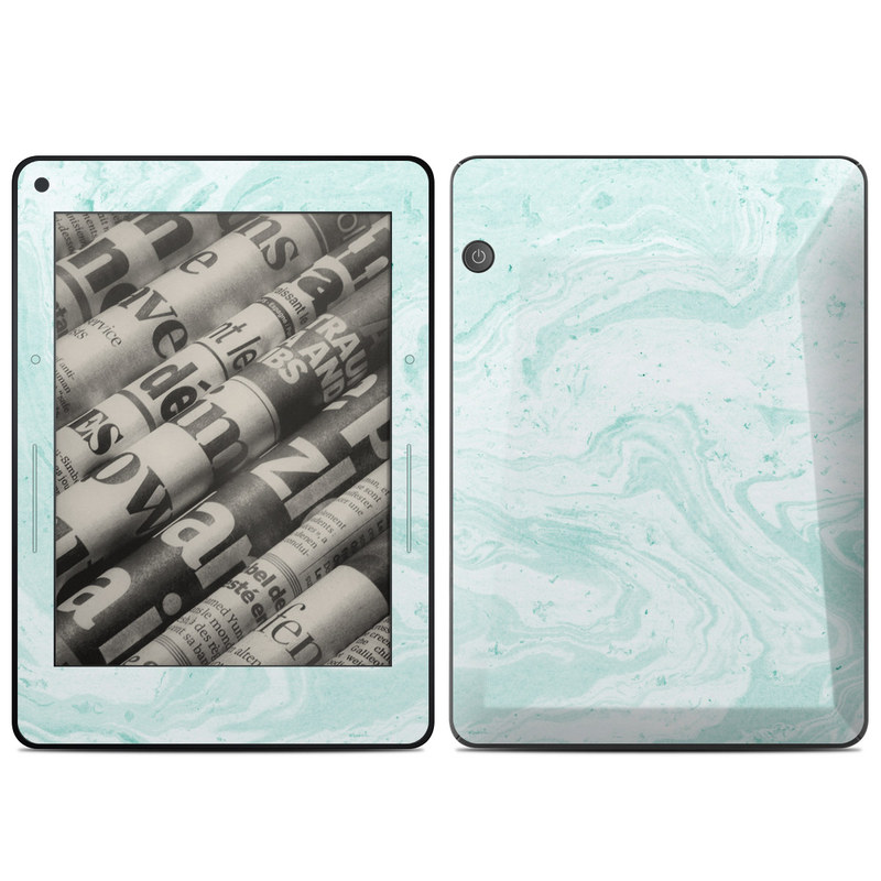 Winter Green Marble Amazon Kindle Voyage Skin
