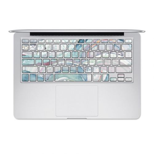 Abstract Organic MacBook Pre 2016 Keyboard Skin
