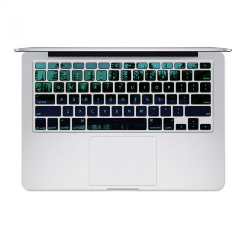 Aurora MacBook Pre 2016 Keyboard Skin