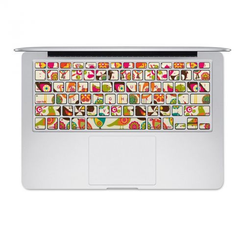 Bird Flowers MacBook Pre 2016 Keyboard Skin