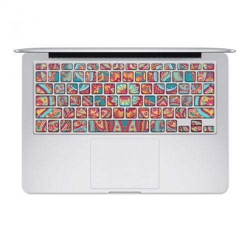Carnival Paisley MacBook Keyboard Skin