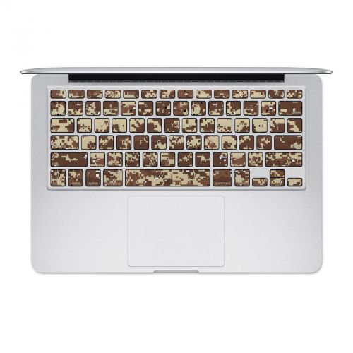 Digital Desert Camo MacBook Pre 2016 Keyboard Skin