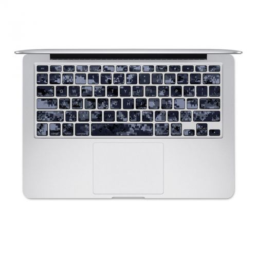 Digital Navy Camo MacBook Pre 2016 Keyboard Skin