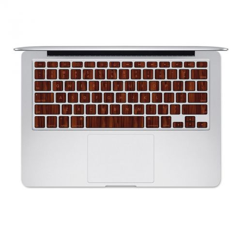 Dark Rosewood MacBook Pre 2016 Keyboard Skin