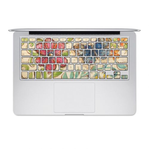 Garden Scroll MacBook Pre 2016 Keyboard Skin