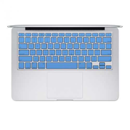 Solid State Blue MacBook Pre 2016 Keyboard Skin