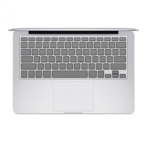 Solid State Grey MacBook Keyboard Skin