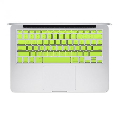 Solid State Lime MacBook Keyboard Skin