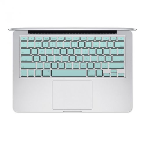 Solid State Mint MacBook Pre 2016 Keyboard Skin