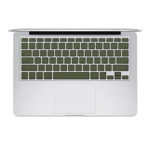 Solid State Olive Drab MacBook Pre 2016 Keyboard Skin