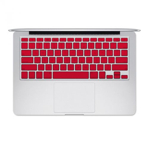 Solid State Red MacBook Pre 2016 Keyboard Skin