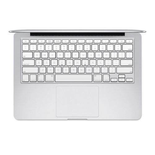 Solid State White MacBook Pre 2016 Keyboard Skin