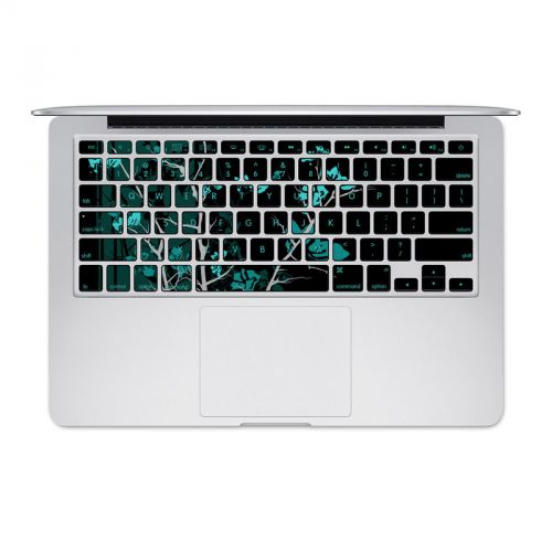 Aqua Tranquility MacBook Keyboard Skin