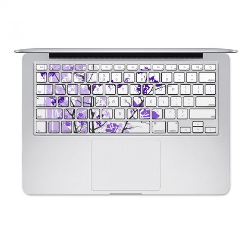 Violet Tranquility MacBook Keyboard Skin