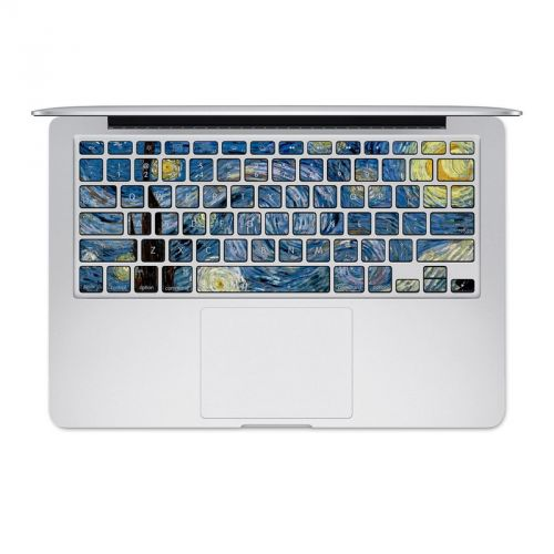 Starry Night MacBook Keyboard Skin