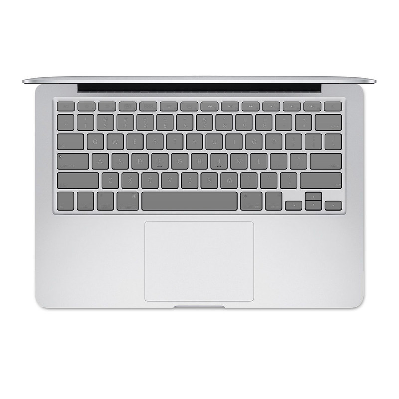Solid State Grey MacBook Pre 2016 Keyboard Skin
