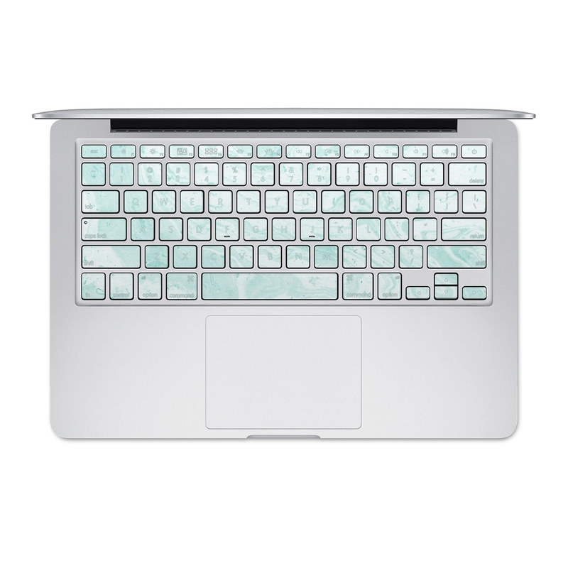 Winter Green Marble MacBook Pre 2016 Keyboard Skin